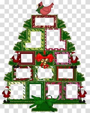 christmas tree frame PNG