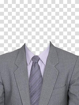 gray notched lapel suit jacket, Suit Clothing, Gray suit and gray tie PNG