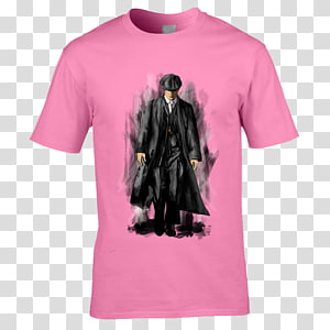 T-shirt Tommy Shelby Alfie Solomons Collar, T-shirt PNG