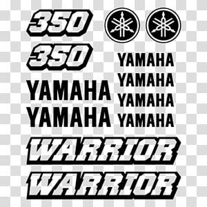 Yamaha Motor Company Brand Yamaha Raptor 700R Logo Sticker, Yamaha quad PNG