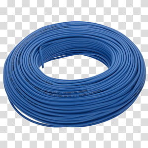 Electrical cable Electrical Wires & Cable Electricity Blue, wire PNG clipart