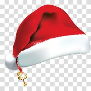 christmas santa hat element material PNG