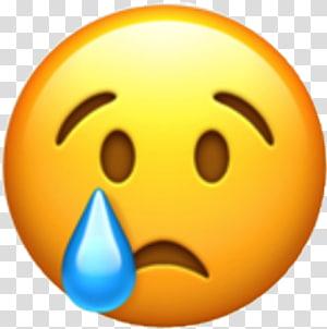 crying emoticon, World Emoji Day WhatsApp Emoticon Crying, sad emoji PNG clipart