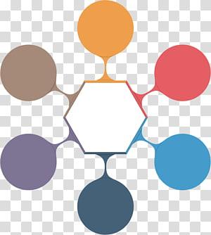 pentagon illustration, sleeve label PNG