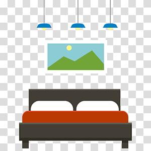 Furniture Bedroom, Beds PNG clipart