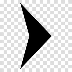 Triangle Point White Font, spiral arrow PNG