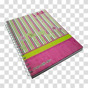 Magenta, cuaderno PNG
