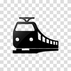 silhouette of train illustration, Train Rail transport Rapid transit Computer Icons, Transportation Save Icon Format PNG clipart