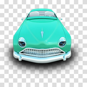 green convertible coupe illustration, classic car automotive exterior compact car, Crowler PNG clipart