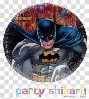Paper Superhero Batman Book Plate, paper plate PNG