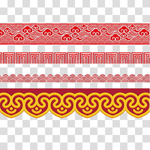 creative chinese border PNG clipart