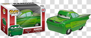 Lightning McQueen Mater Doc Hudson Ramone Cars, painted figure PNG clipart