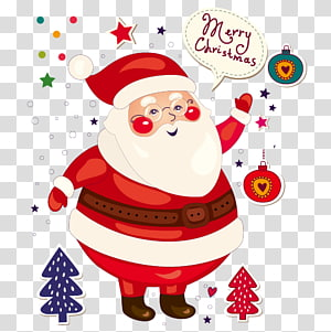 Santa Claus Christmas card Illustration, Santa Claus PNG clipart