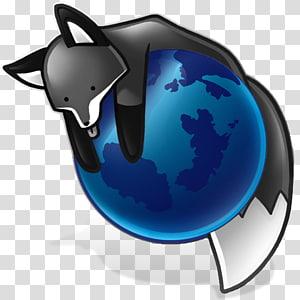 Mozilla Foundation Firefox Computer Icons Desktop , gray fox PNG