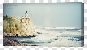 Split Rock Lighthouse Portland Head Light Desktop , landscapes prints PNG clipart