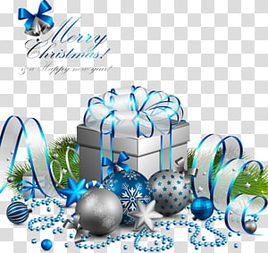 Merry Christmas gift illustration, Christmas gifts material library PNG
