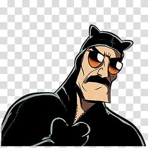 male cartoon character , vision care carnivoran horse like mammal eyewear illustration, Night Patrol PNG clipart
