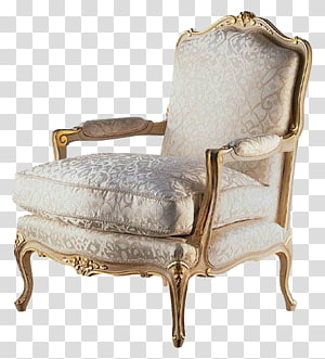 Furniture Chair Rococo Interior Design Services Classic, Continental pattern beige sofa wealth PNG