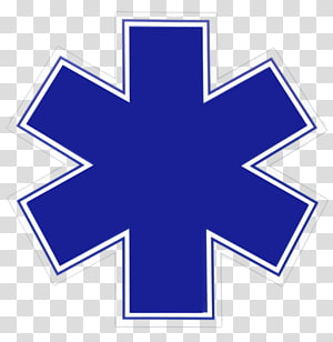 Star of Life Emergency medical services Emergency medical technician Paramedic Ambulance, ambulance logo PNG clipart