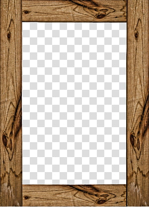 wood frame PNG clipart