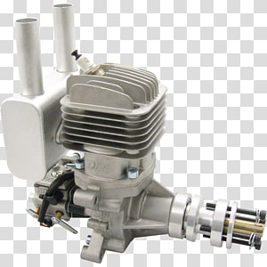 Two Stroke Petrol Engine DLE DLE Engines DLE-30 Petrol Engine, DLE30 DLE-55RA Rear Exhaust Gas Engine w/EI & Muffler, wood gas engine PNG clipart