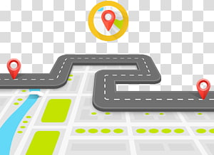 maps application, Road surface Infographic, 3D map PNG clipart