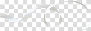 beautiful white ribbon PNG clipart