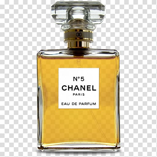 Chanel perfume bottle, Chanel No. 5 Perfume Coco Icon, perfume PNG clipart