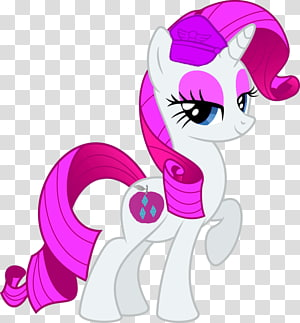 Rarity Pony Twilight Sparkle Princess Luna Applejack, My little pony PNG
