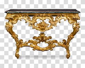 Table Antique furniture Louis Quinze, antique tables PNG