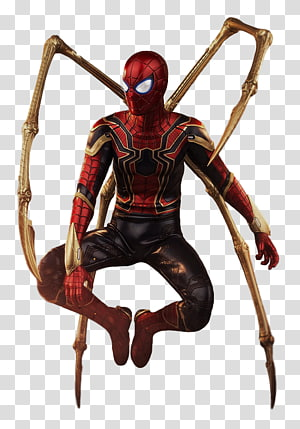 Marvel Iron Spider illustration, Iron Man Spider-Man YouTube Captain America Marvel Cinematic Universe, Iron man infinity war PNG clipart