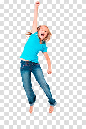 girl doing jumping, Happiness Girl Child Woman, jump PNG