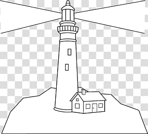 Coloring book Lighthouse of Alexandria Drawing, others PNG clipart