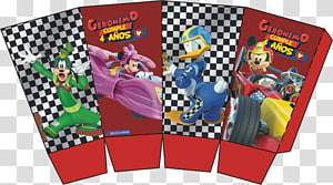 Mickey Mouse Minnie Mouse Birthday Party The Walt Disney Company, Mickey And The Roadster Racers PNG