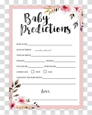 Wedding invitation Baby shower Flower Bridal shower Infant, baby shower invitation PNG clipart