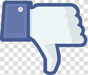 Facebook dislike illustration, Social media Facebook Like button, Facebook Dislike PNG clipart