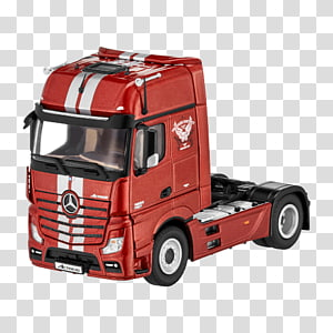 Model car Mercedes-Benz Actros, car PNG