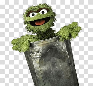 Oscar the Grouch illustration, Sesame Street Oscar the Grouch PNG