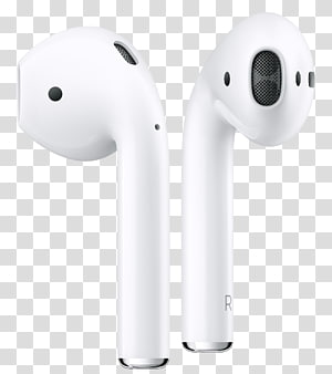 AirPods Apple earbuds Headphones iPhone, apple PNG