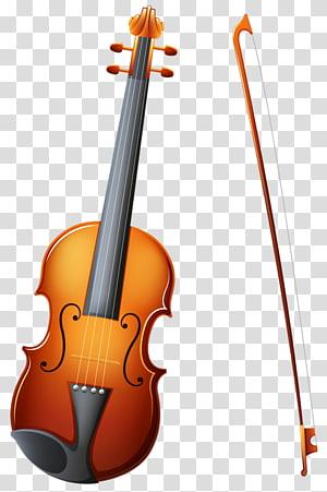 Musical instrument Trumpet Illustration, Cartoon violin PNG