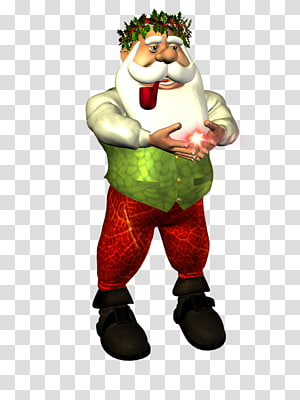 Santa Claus Garden gnome Christmas ornament, claus PNG clipart