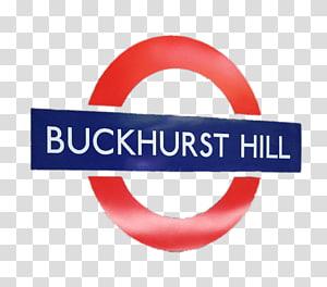 Buckhurst Hill Station signage, Buckhurst Hill PNG