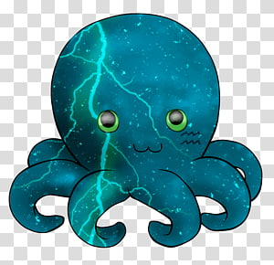 Octopus Cephalopod Marine mammal, Zodiac aquarius PNG clipart