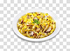 Taglierini Carbonara Vegetarian cuisine Pizza Pasta salad, pizza PNG clipart
