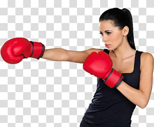 Women\'s boxing Boxing glove Woman Kickboxing, Boxing PNG clipart