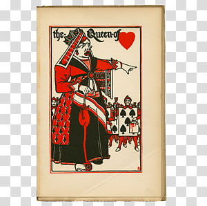 Alice's Adventures in Wonderland Queen of Hearts Alice in Wonderland: The Mad Hatter's Tea Party, Through The Looking-glass. PNG clipart