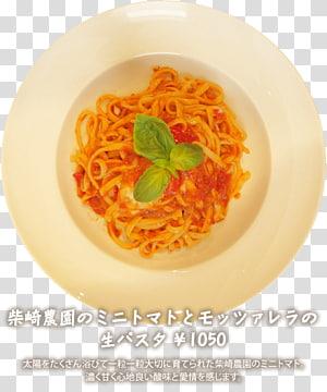 Capellini Pasta al pomodoro Vegetarian cuisine Al dente, Menu Cafeteria PNG clipart