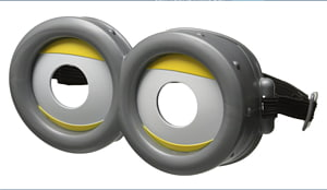 Kevin the Minion Felonious Gru Goggles Glasses Despicable Me, Goggles Available In Different Size PNG clipart