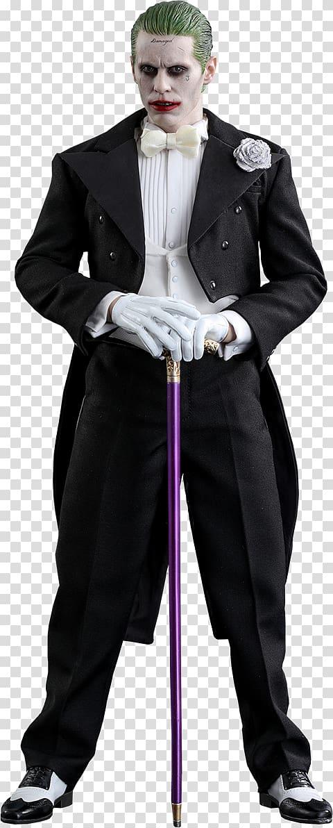 Jared Leto Joker Suicide Squad T-shirt Hot Toys Limited, wedding suit PNG