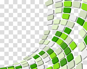 green and light green tile , Green squares PNG clipart